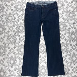 Calvin Klein Jeans Dark Wash Shape Fit Size 12